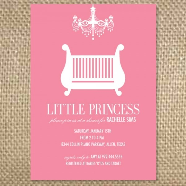 Baby Girl Shower Invitations Wording Free Printable Baby How To