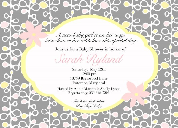 Email Invitations For Baby Shower