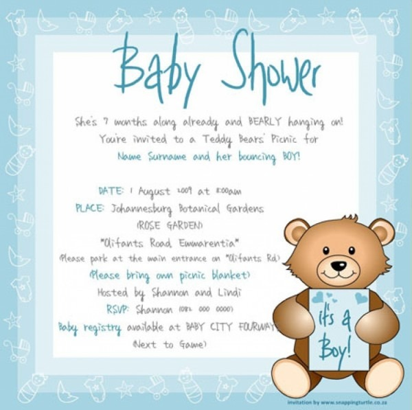 Baby Shower Email Invitations This Is The Baby Shower Invitation