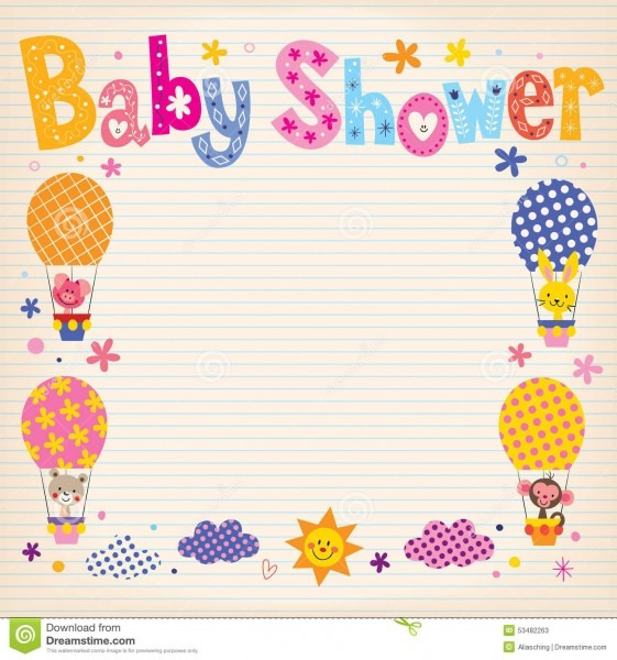 Baby Shower Invitation Card Design From Thumbs For A Remarkable