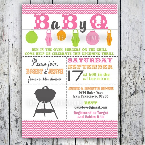 Baby Shower Invitations Free Baby Q Shower Invitations Permanent
