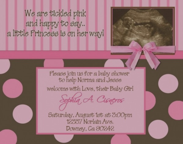 Baby Shower Invitations With Ultrasound