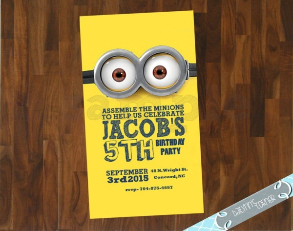 The Ultimate Roundup Of Affordable Minion Birthday Party Ideas