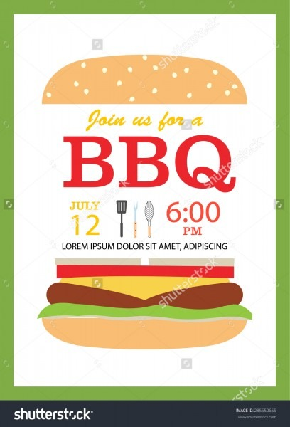 Bbq Party Invitation Is One Of The Best Idea To Make Your Party