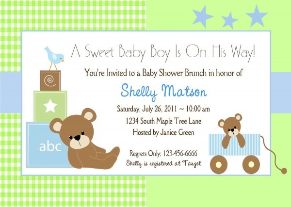 Download Now Free Template It's A Baby Boy Shower Invitations