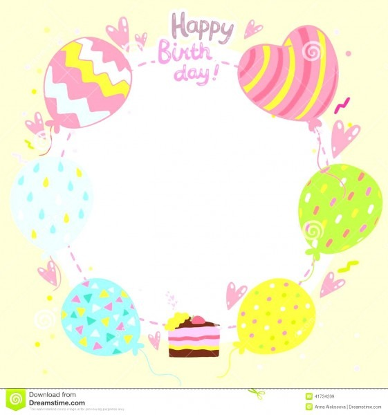 Word Birthday Card Templates