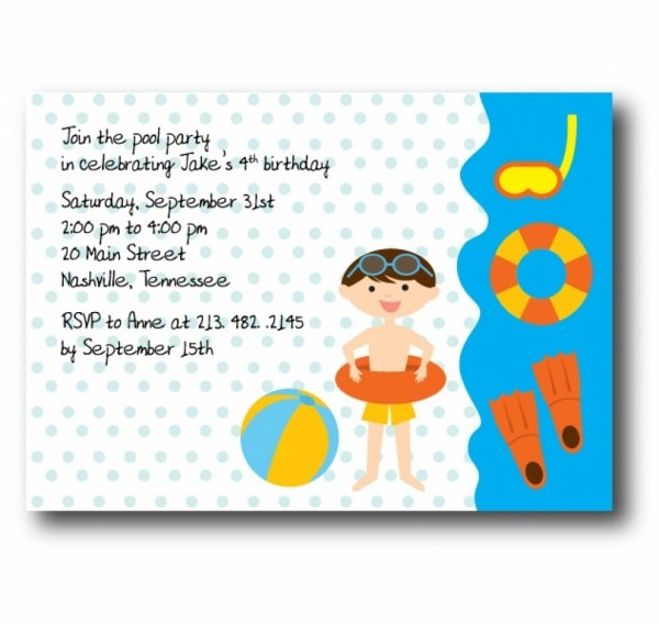Birthday Invitations To Email — Birthday Invitation Examples