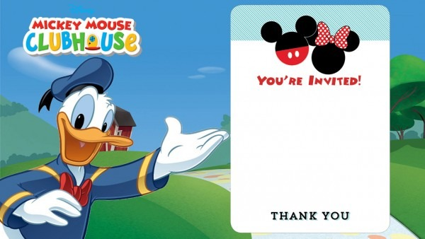 Free Disney Printable Birthday Invitations