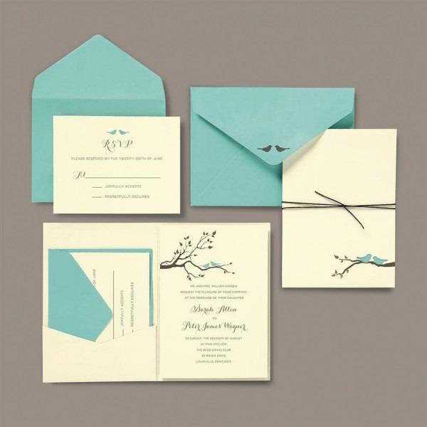 Shop Brides Love Birds Blue White Brown 30