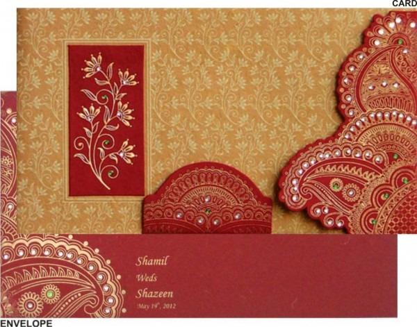 Brilliant Indian Wedding Invitations Indian Wedding Cards 02