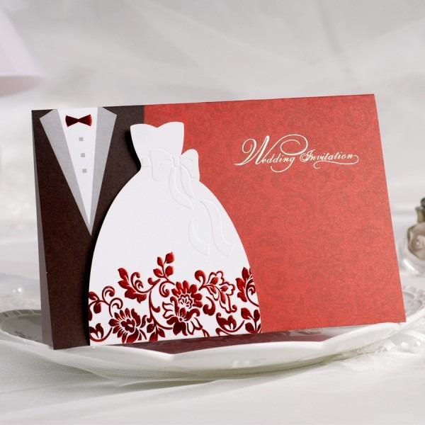 Brilliant Wedding Card Style Wedding Invitation Cards New Ideas