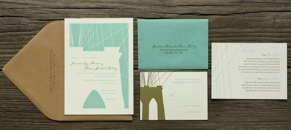 Brooklyn Wedding Invitations
