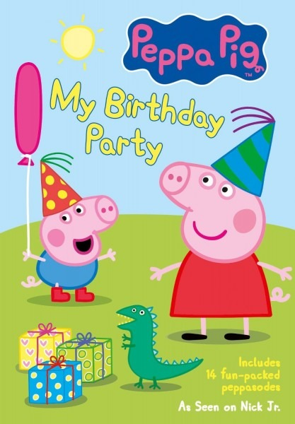 Peppa Pig  My Birthday Party & Giveaway ~ The Review Stew