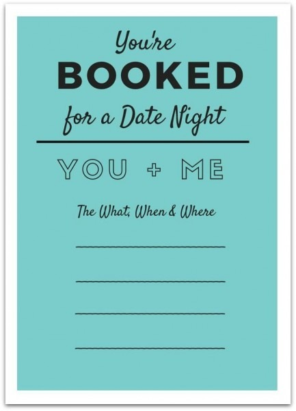 Printable Date Night Invite