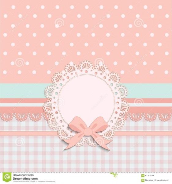 Card For Little Girls Stock Vector  Illustration Of Illustration
