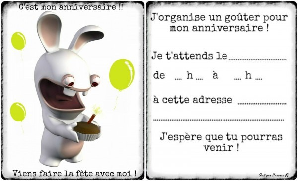 Modele D Invitation A Un Anniversaire Commander Invitation