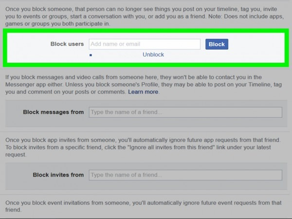 How To Check Your Block List On Facebook  11 Steps (with Pictures)