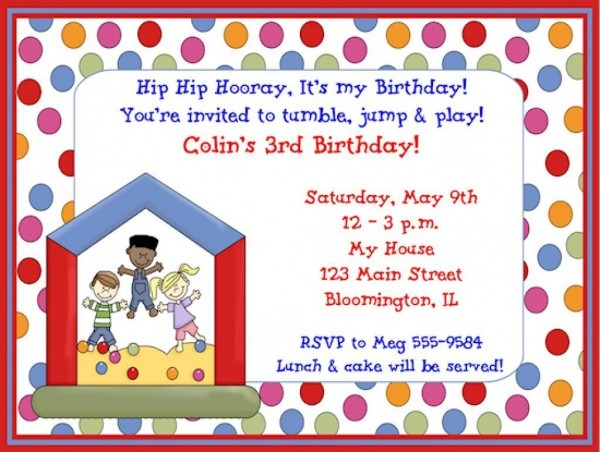 Childrens Birthday Party Invitations By Means Of Creating Catchy