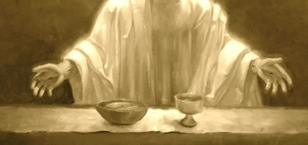 Christ Our Lord Invites To His Table Lords Supper Bybclary