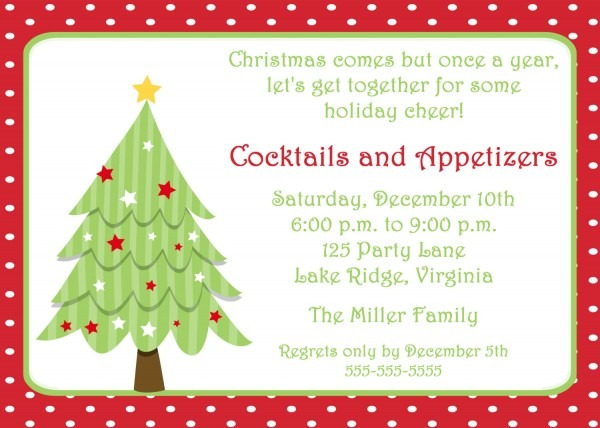 Christmas Party Invitations Templates Including Impressive Party