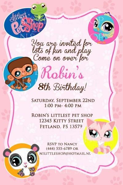Contoh Invitation Card Birthday » Happy Birthday World