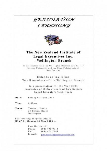 Contoh Invitation Card Graduation Party