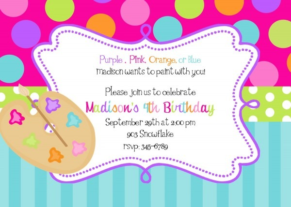 Contoh Invitation Card Informal How To Invite Birthday Party