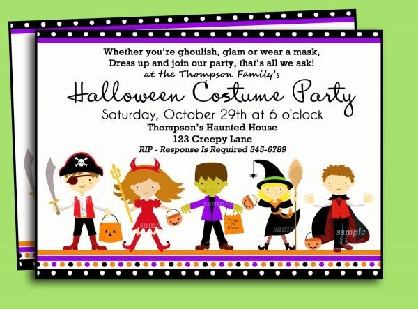 Costumes Birthday Party Invitation Wording Festival, Costume