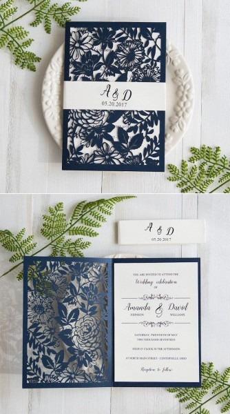Cricut Wedding Invitations Say I Do In Style With Stylish Wedd 6