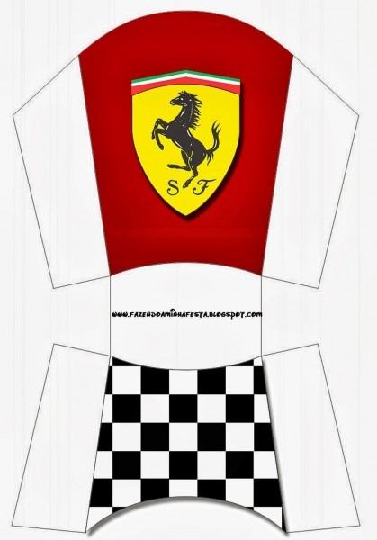 Ferrari  Free Printable Boxes  More