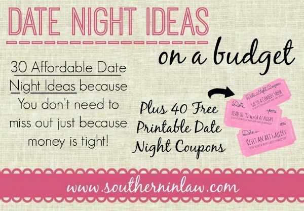 Printable Date Ideas Template Date Ideas For Married Couples
