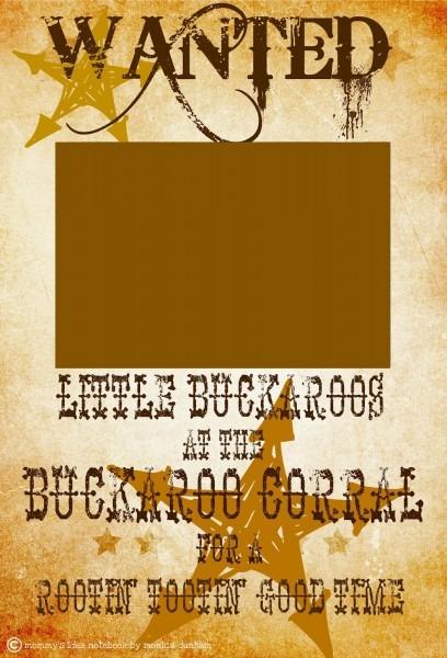 Ddafcaefebdfbcc Cowboy Invitations Template Free