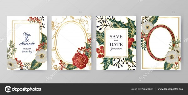 Winter Holiday Background, Invitation  Wedding Pattern Design