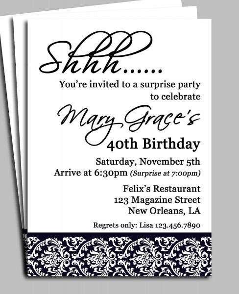 Dfebefaccdc Epic Surprise Birthday Invitation Wording For Adults