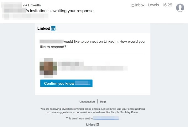 Pieter Levels ✨ On Twitter   How To Stop @linkedin Spam In 4