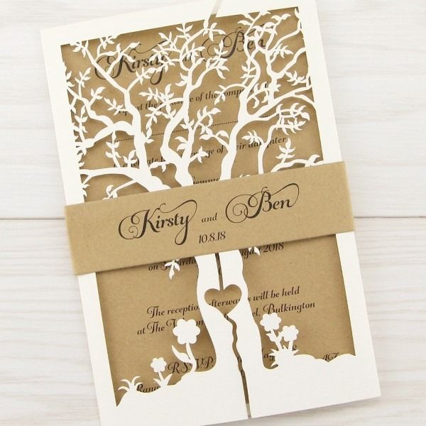 Diy Belly Band For Wedding Invitations