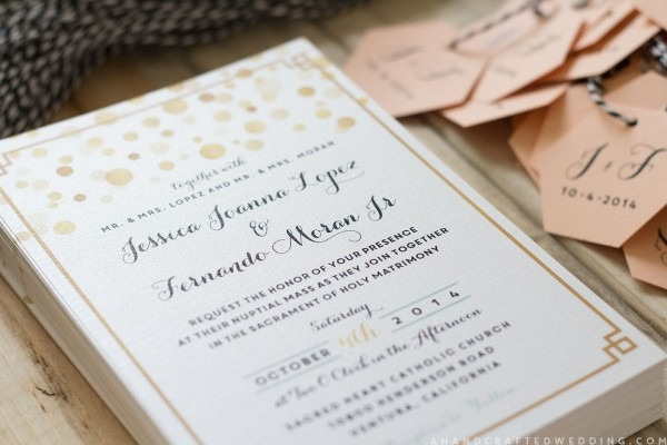 Modern Diy Wedding Invitations