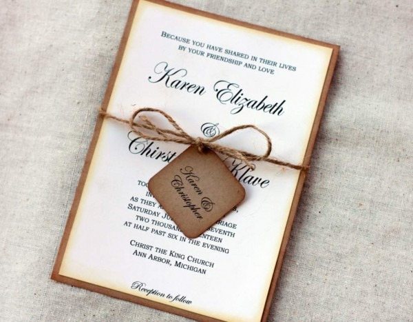 Do It Yourself Wedding Invitations Templates