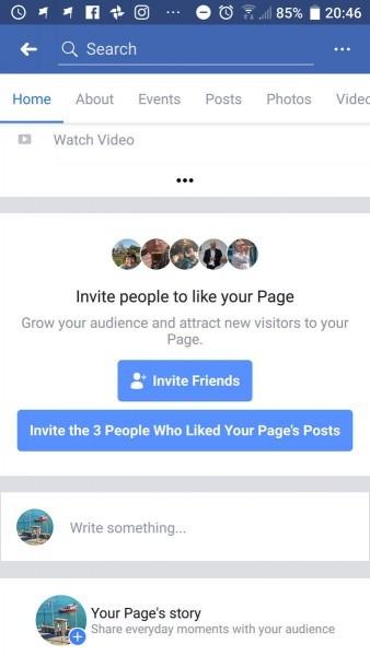 Matt Navarra On Twitter   Facebook Testing New Way To Invite