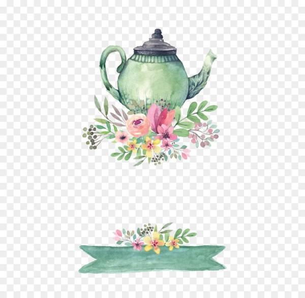 Tea Party Wedding Invitation Bridal Shower