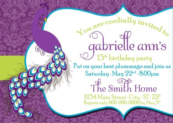 Dress Code Wording For Birthday Party Invitations From I And Get