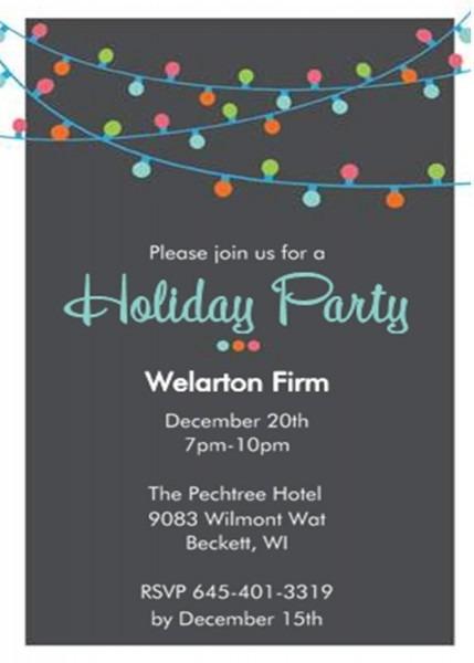 Efbafccceebdfec Best Company Party Invitation