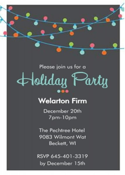Company Christmas Party Invitation Wording Is Your Newest Idea Of