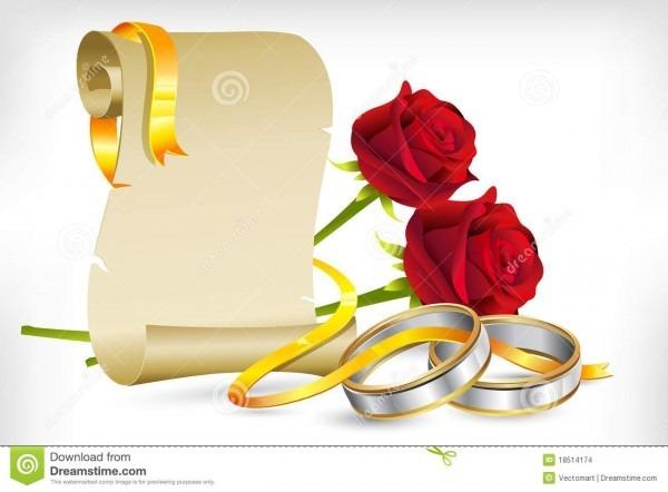 Engagement Invitation Stock Vector  Illustration Of Engagement