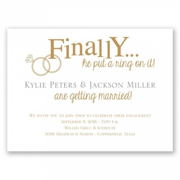 Engagement Lovely Best Engagement Party Invitations