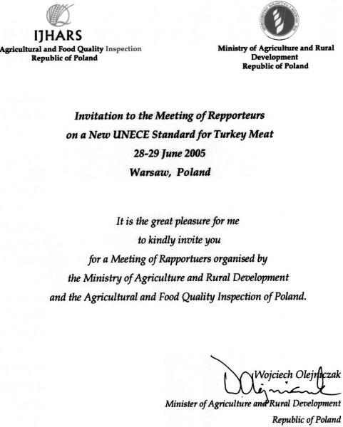Event Invitation Letter Template