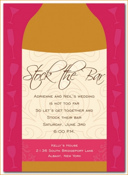 Party Invitations  New Stock The Bar Party Invitations Designs
