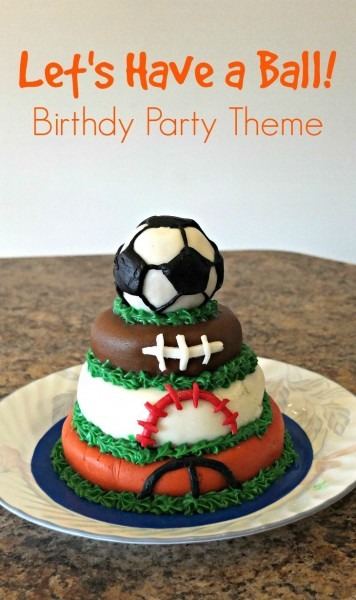 Let's Have A Ball! [ball Themed Birthday Party
