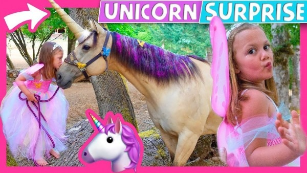 🦄 😍 Goose Wanted A Unicorn Birthday Party So We Surprise Her