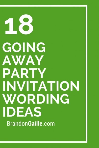 Farewell Party Invitation Wording For Simple Invitations Of Your